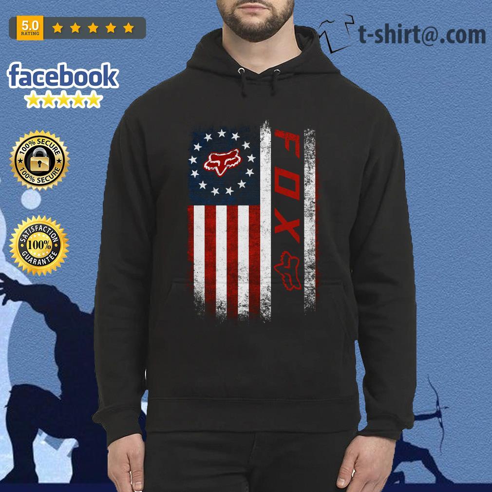 Veteran American flag Fox Racing Hoodie