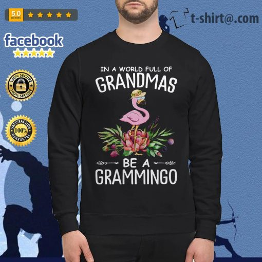 In a world full of grandmas be a grammingo Sweater