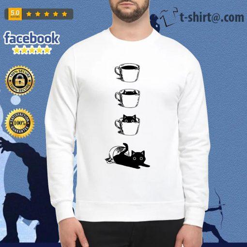 Dibujos de gatos coffee cat Sweater