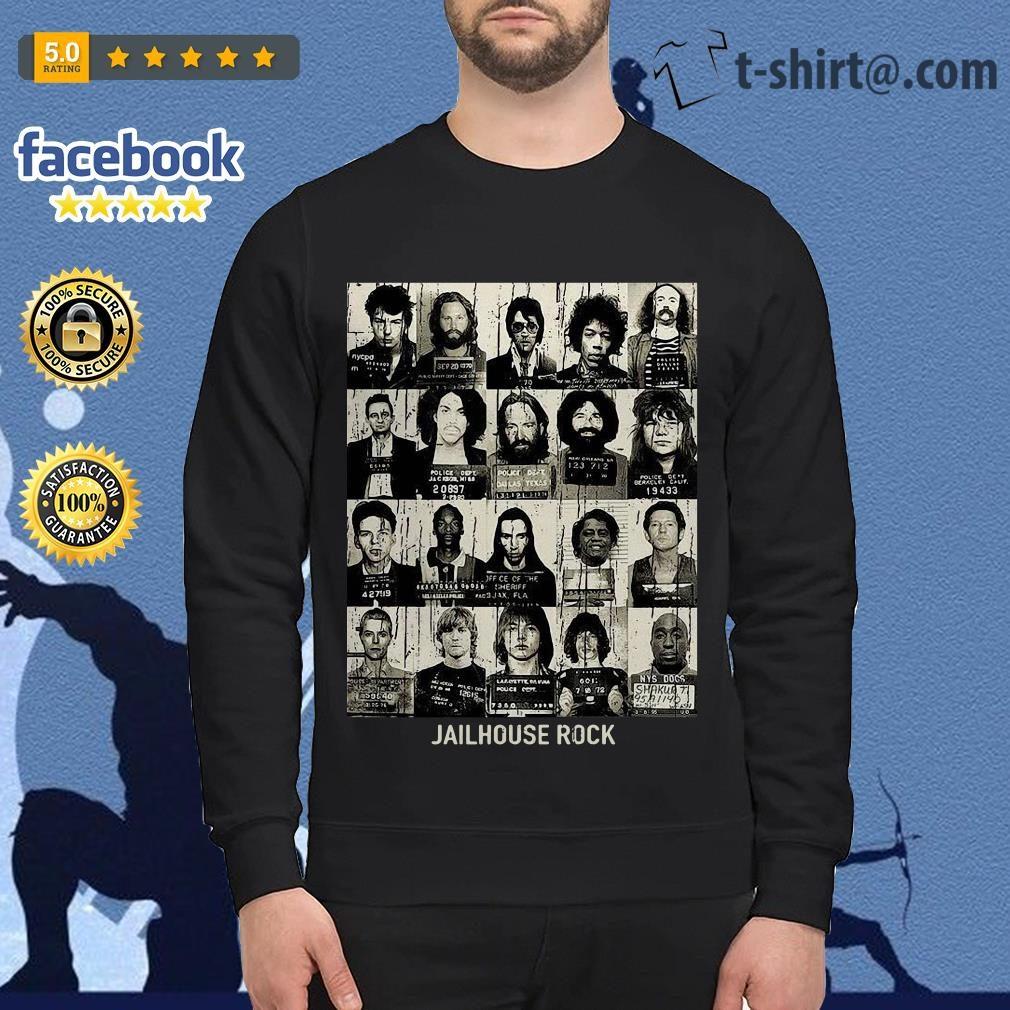 Rock music band jailhouse rock Sweater