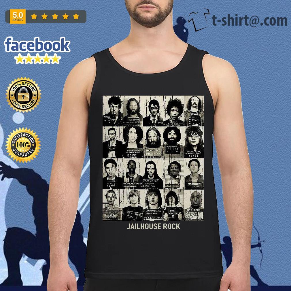 Rock music band jailhouse rock Tank top