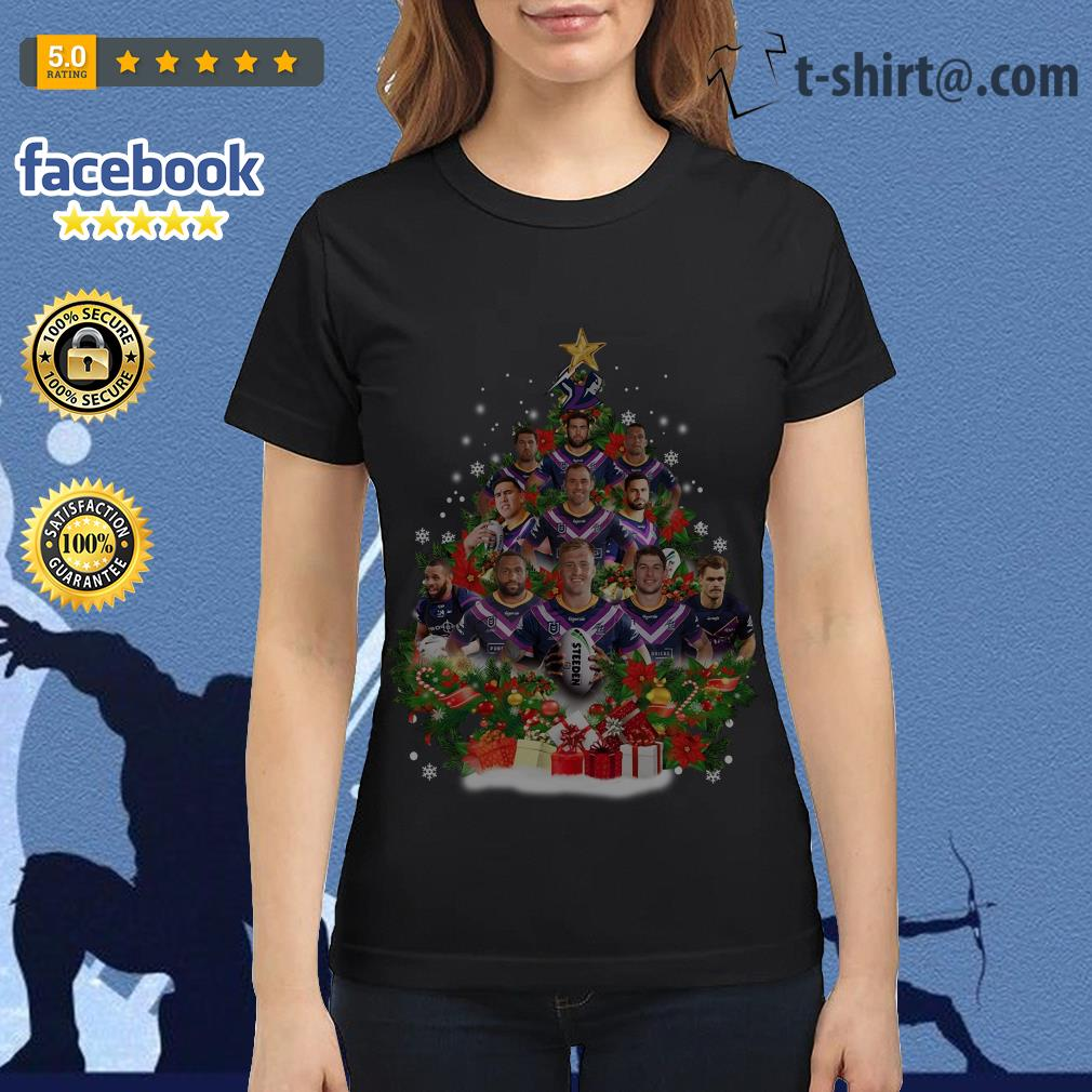 Christmas Trees Melbourne: Melbourne Storm Players Christmas Tree Shirt, Sweater