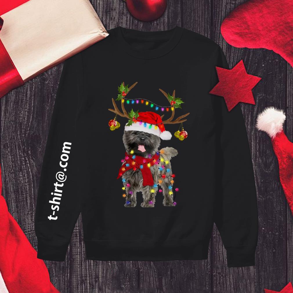 Cairn Terriers gorgeous reindeer Christmas Sweater