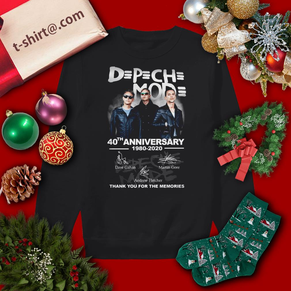 Official Depeche Mode 40th Anniversary 1980-2020 Thank You