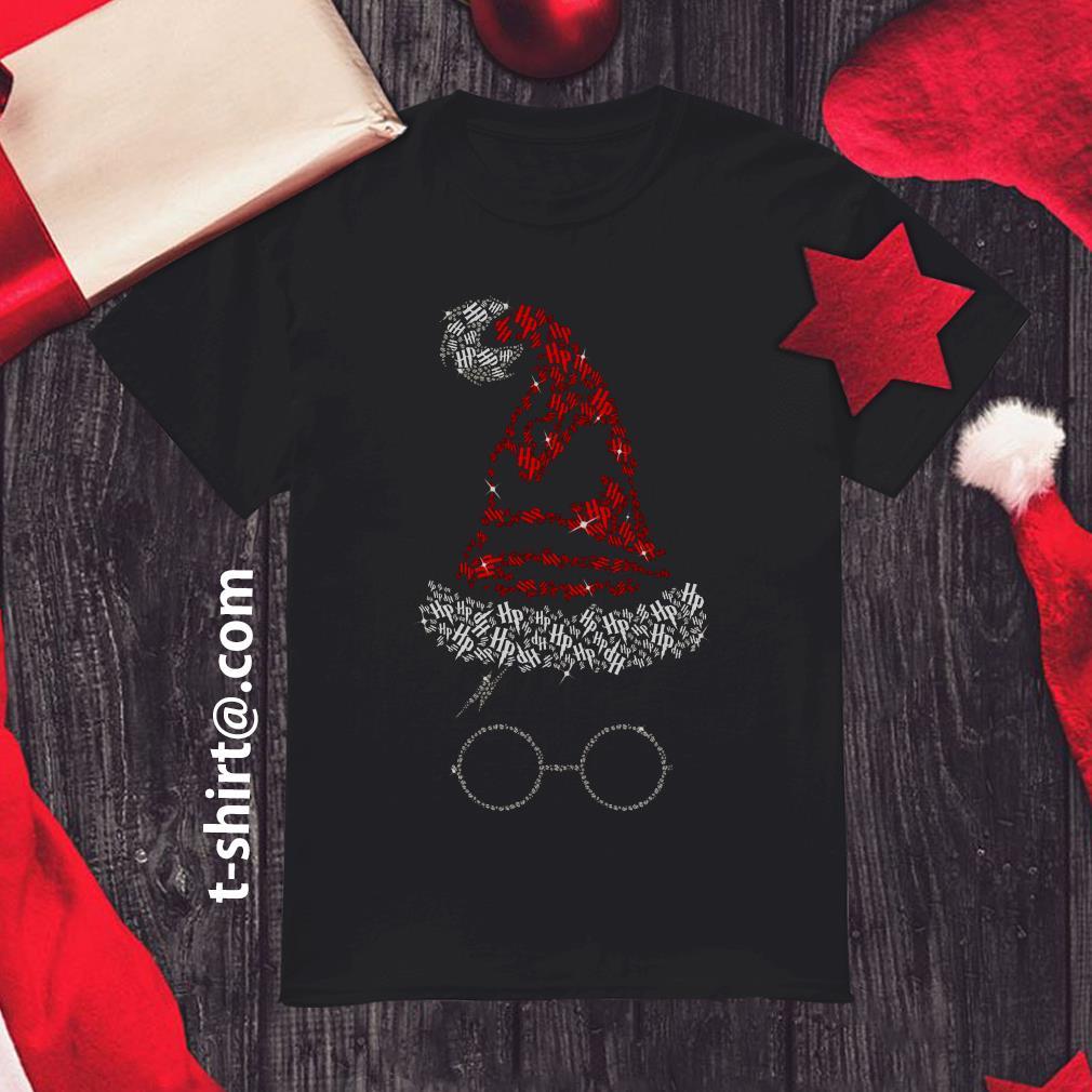 Rhinestone Harry Potter Sorting hat Christmas shirt, sweater