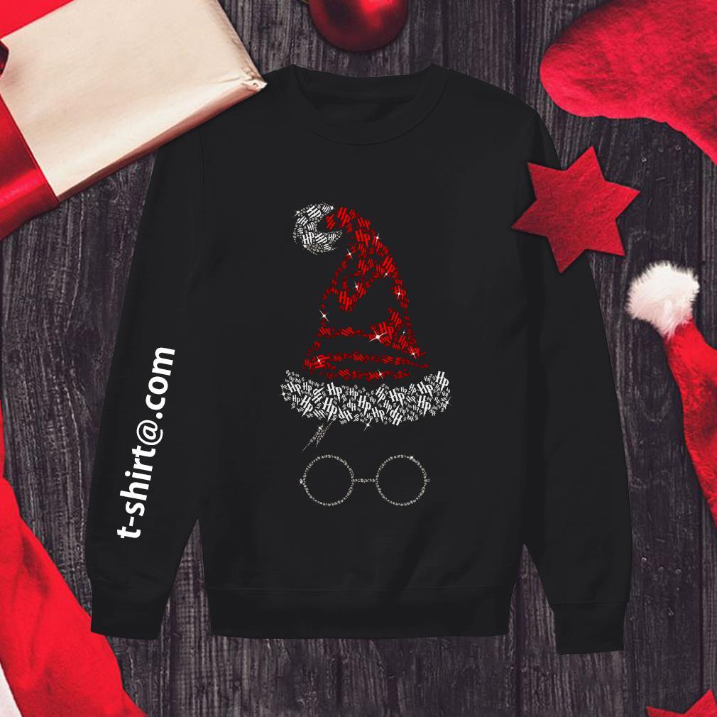 Rhinestone Harry Potter Sorting hat Christmas Sweater