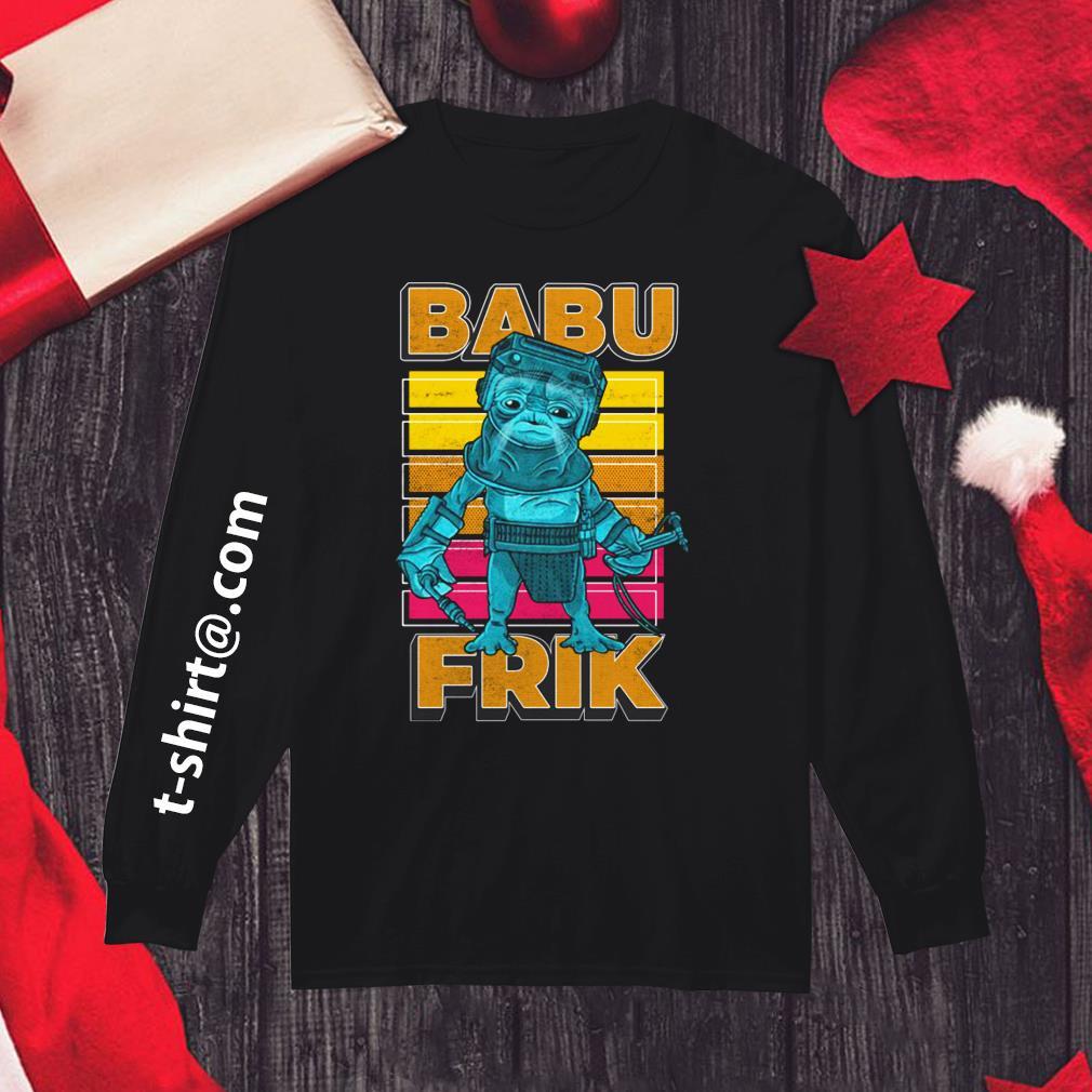 Star Wars The Rise Of Skywalker Babu Frik Shirt Hoodie And Sweater