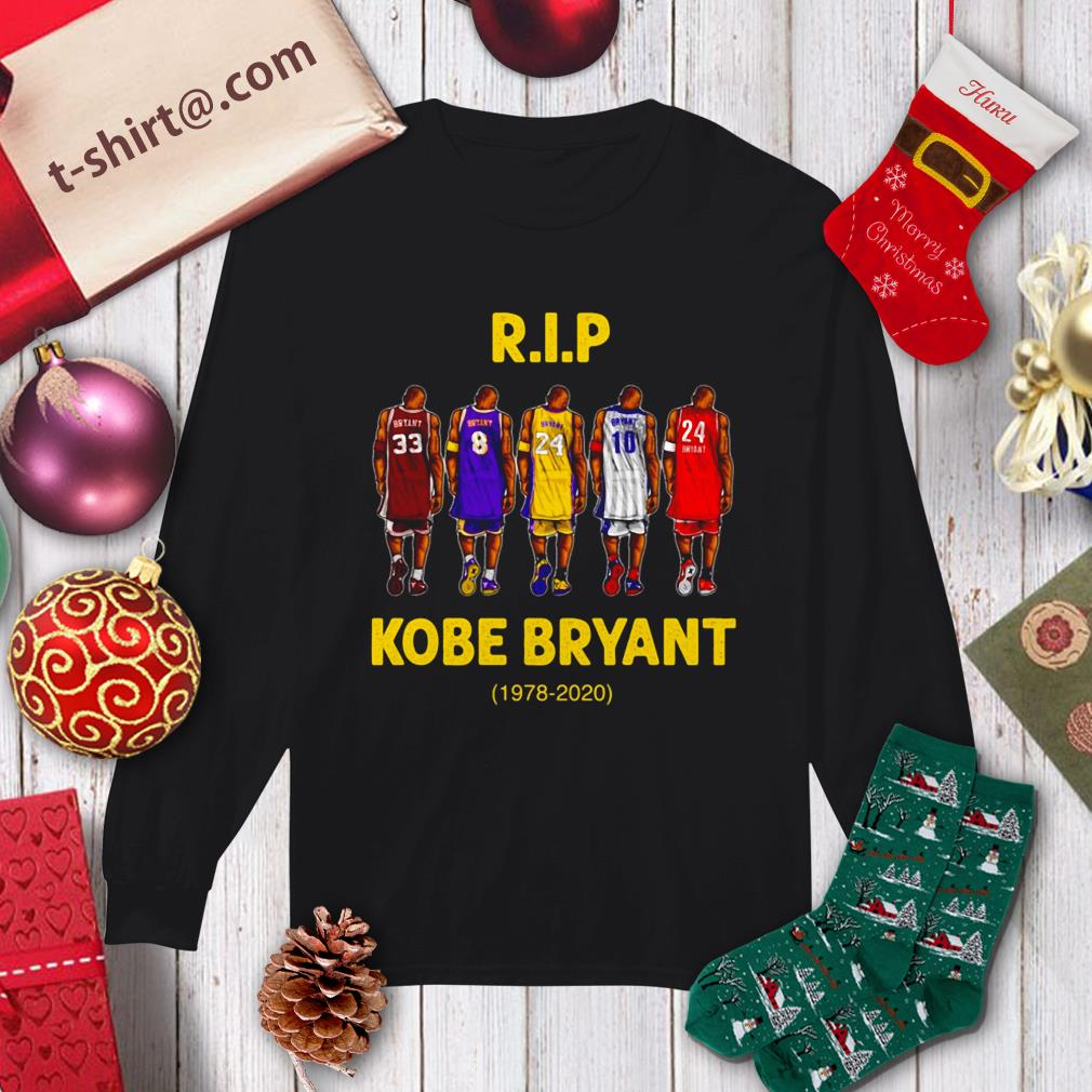 Rip Kobe Bryant 1978-2020 Longsleeve Tee