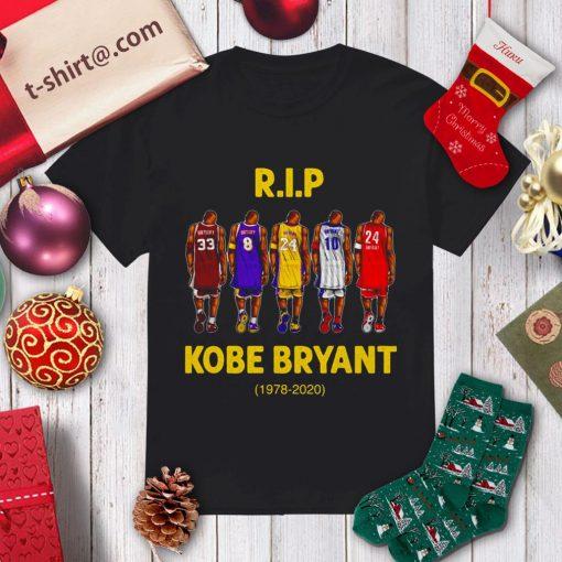 Rip Kobe Bryant 1978-2020 shirt