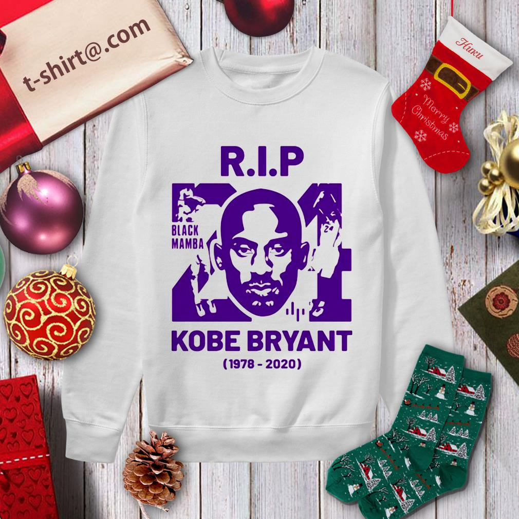 Rip Kobe Bryant black mamba 1978-2020 Sweater