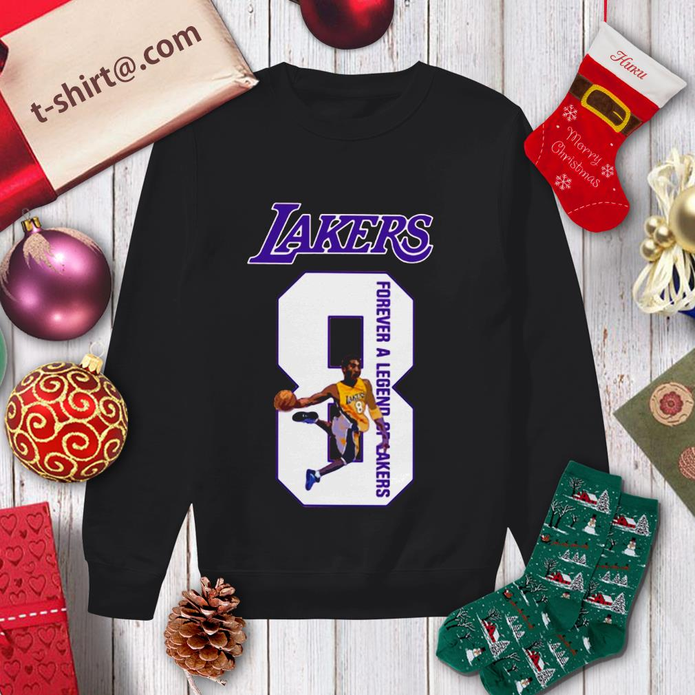 RIP Kobe Bryant number 8 forever a legend Lakers Sweater