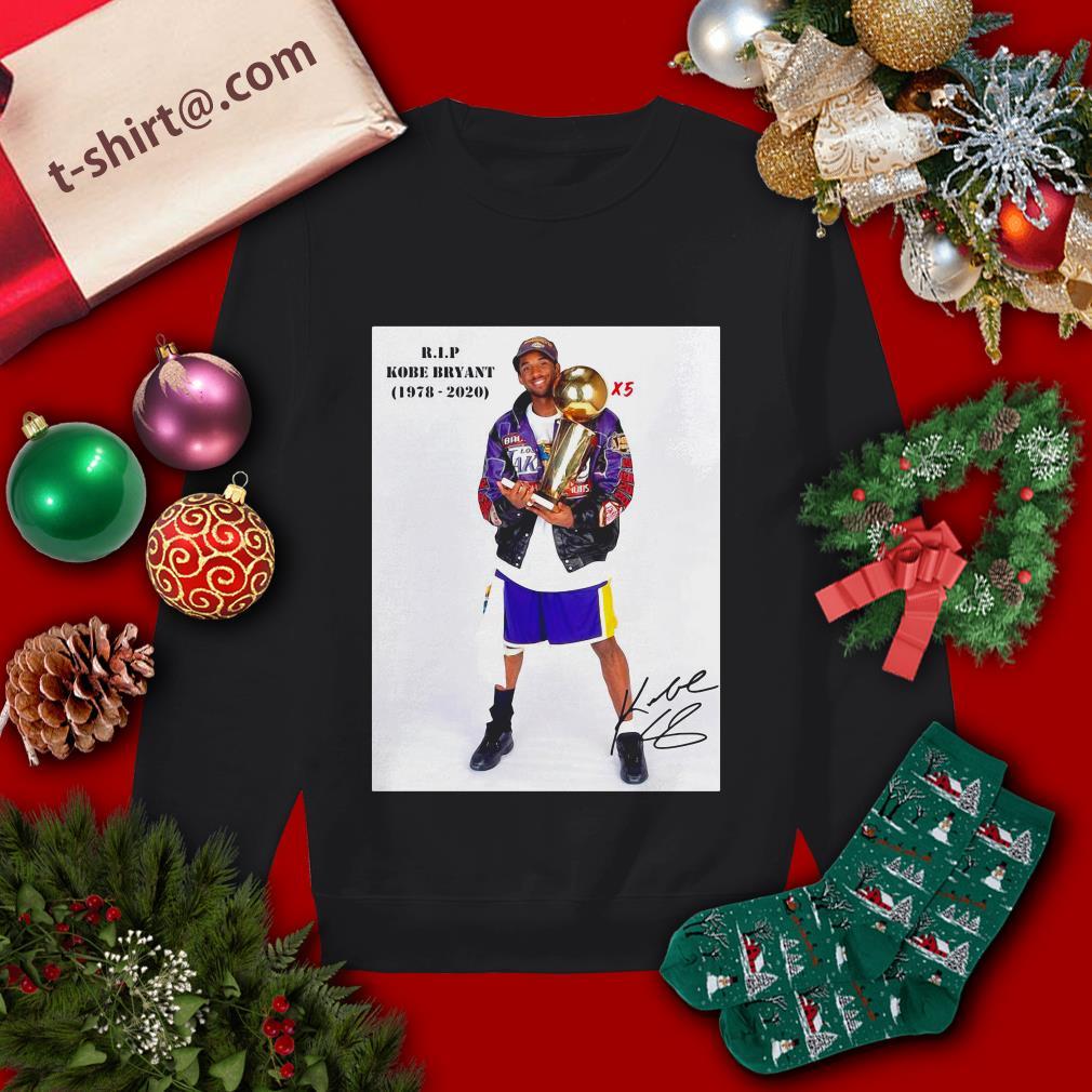 X5 RIP Kobe Bryant 1978-2020 Sweater