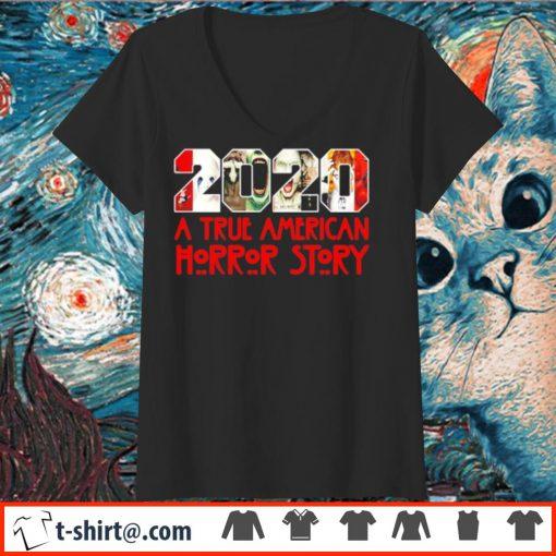 2020 a true American horror story s v-neck-t-shirt