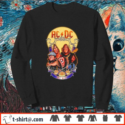 ACDC hard rock band Hail to the ACDC Halloween s sweater