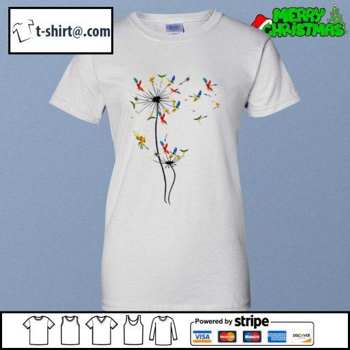 Dandelion Parrots s ladies-tee