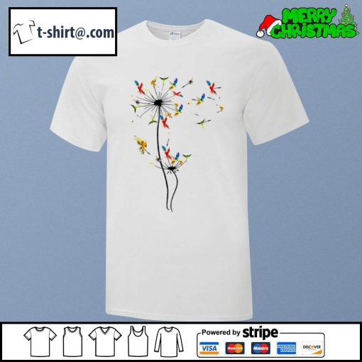 Dandelion Parrots shirt