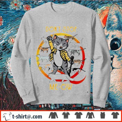 Freddie Mercury cat don't stop meow s sweater