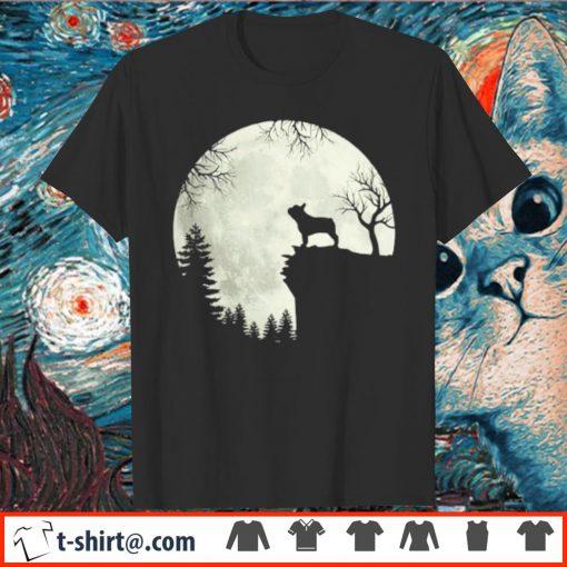 French Bulldog and moon Halloween shirt