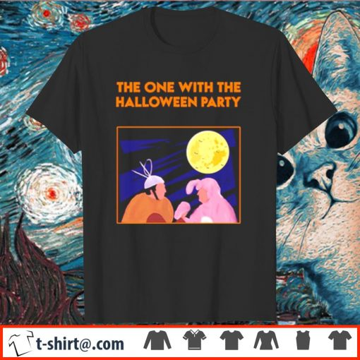 Friends the one with the Halloween party shirt