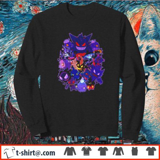 Ghost Pokemon Halloween s sweater