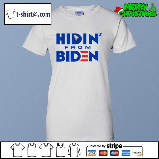 Hidin' from Biden s ladies-tee