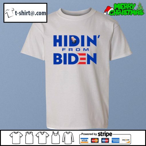 Hidin' from Biden s youth-tee