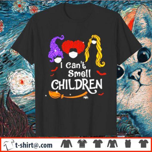 Hocus Pocus I can't smell children face mask shirt