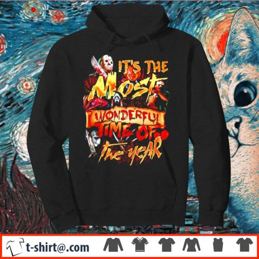 Horror characters It's the most wonderful time of the year s hoodie