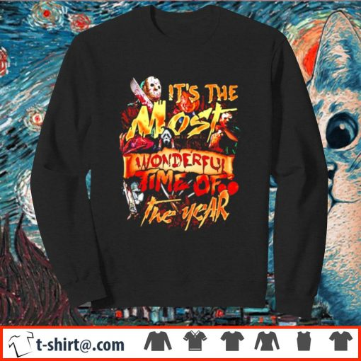 Horror characters It's the most wonderful time of the year s sweater