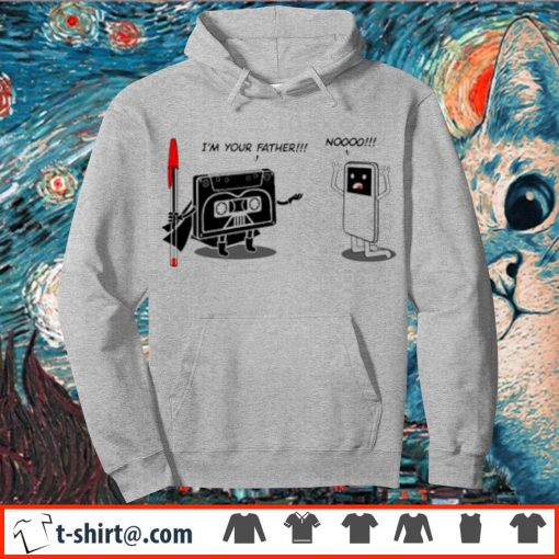 I'm your father cassette tape s hoodie