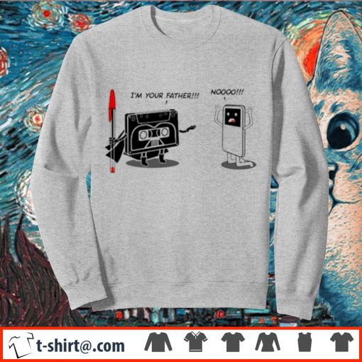 I'm your father cassette tape s sweater