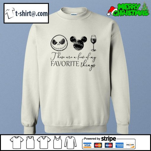 Jack Skellington Mickey wine these are a few of my favorite things s sweater