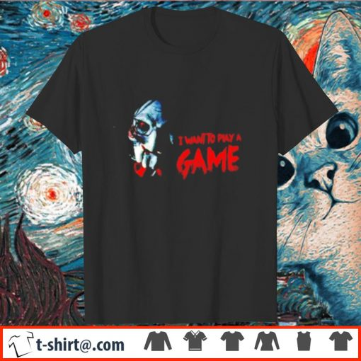Jigsaw I want to play a game shirt