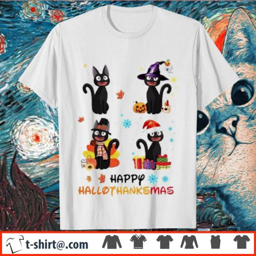 Jiji Happy Hallothanksmas shirt