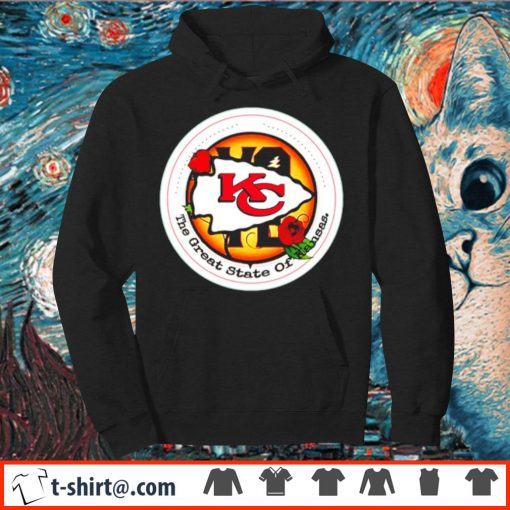 Kansas City Chiefs Vote the great state of Kansas s hoodie