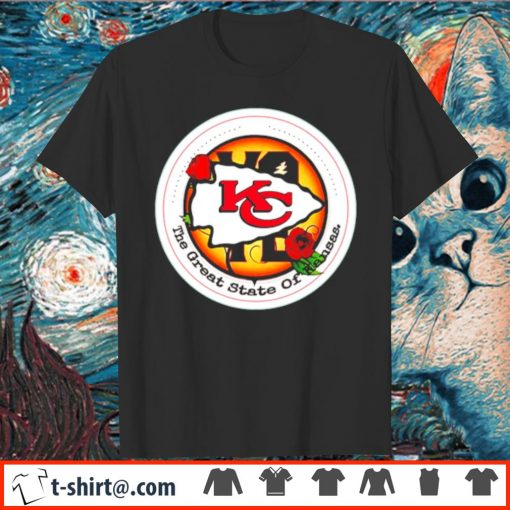Kansas City Chiefs Vote the great state of Kansas shirt