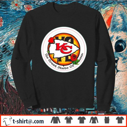 Kansas City Chiefs Vote the great state of Kansas s sweater