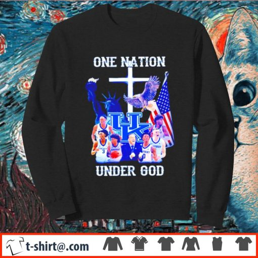 Kentucky Wildcats one nation under God s sweater