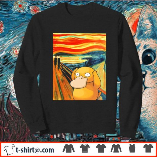 Koduck Scream painting s sweater
