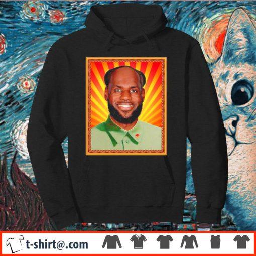 Lebron James' China Mao Zedong Shirt hoodie