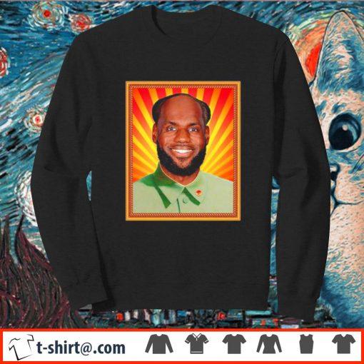 Lebron James' China Mao Zedong Shirt sweater