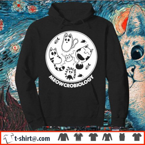 Official Meowcrobiology s hoodie