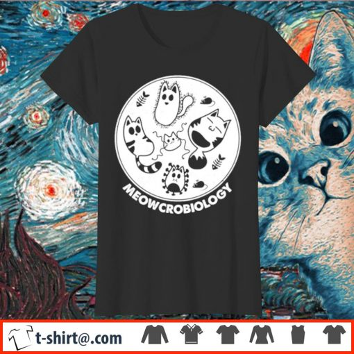 Official Meowcrobiology s ladies-tee