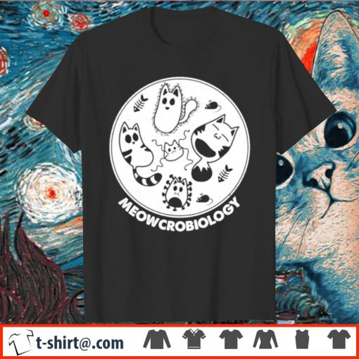 Official Meowcrobiology shirt