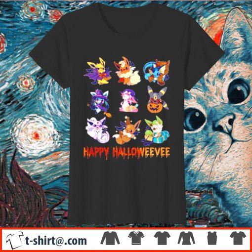 Pokemon Eevee Happy Halloween s ladies-tee