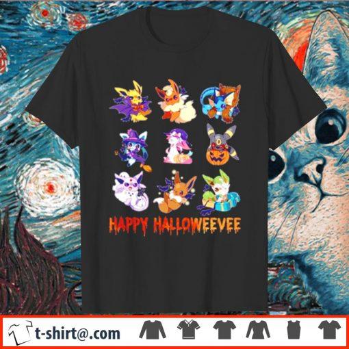 Pokemon Eevee Happy Halloween shirt