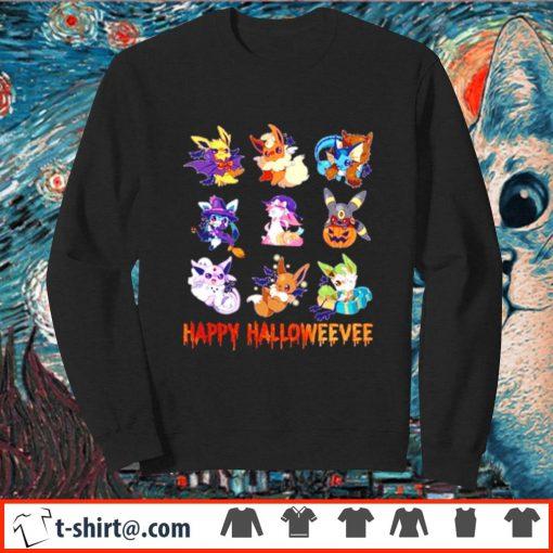 Pokemon Eevee Happy Halloween s sweater