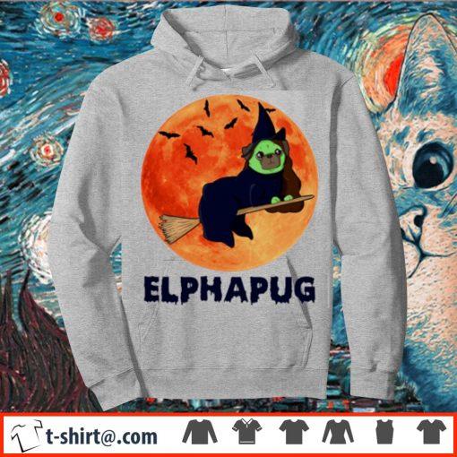 Pug Elphapug Halloween s hoodie