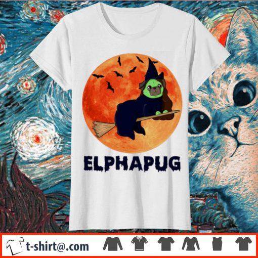 Pug Elphapug Halloween s ladies-tee