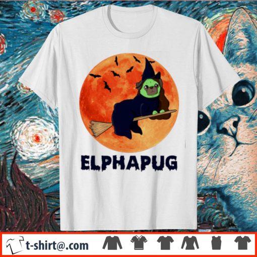 Pug Elphapug Halloween shirt